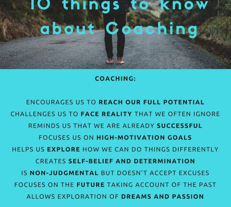 10 things to know about Coaching