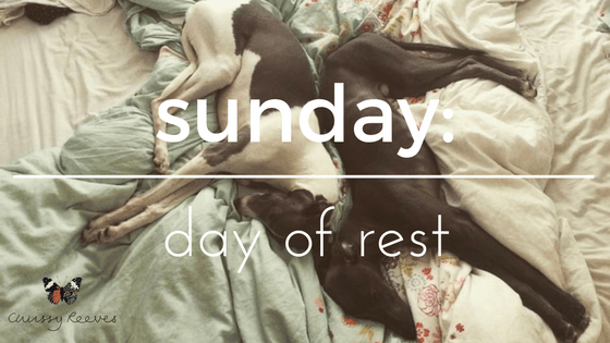 Sunday: day of rest