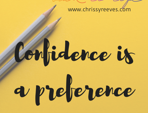 Confidence Is A Preference